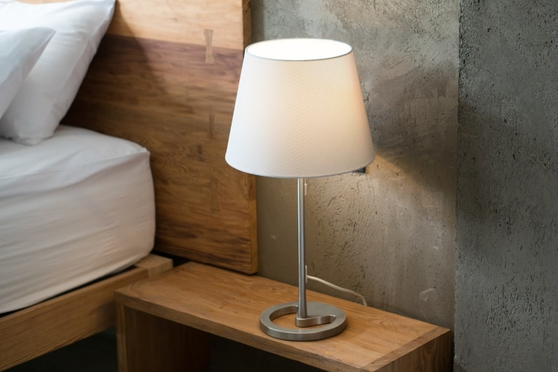 Wiping Lampshades and Light Fittings